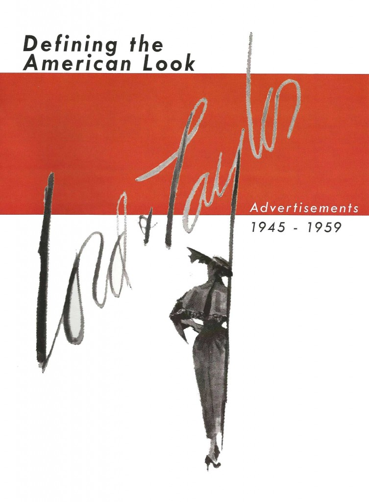 Lord & Taylor: Defining the American Look, Advertisements 1945-1959